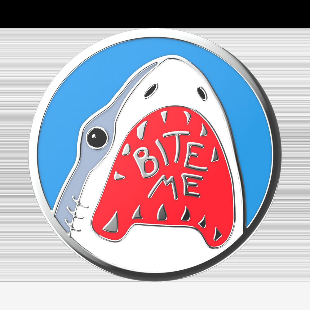 Enamel Shark Bites (zoom)