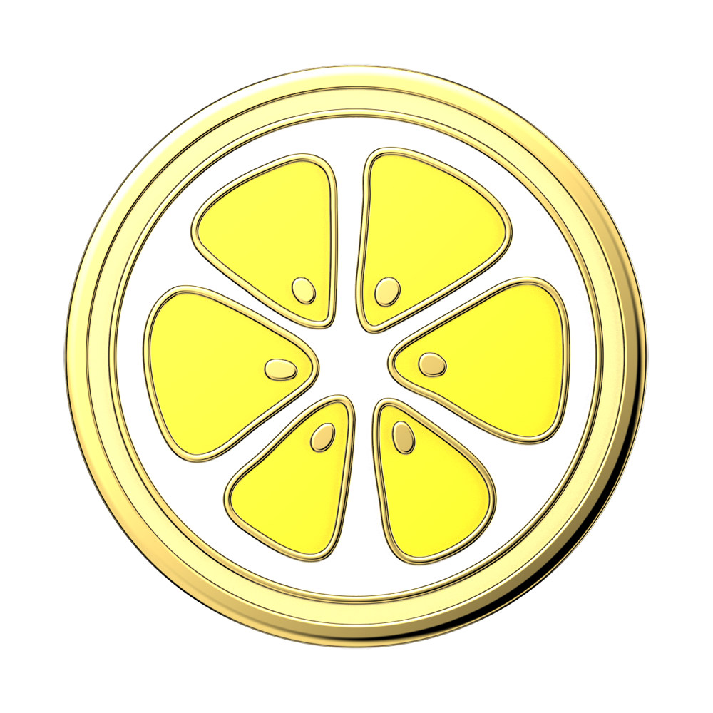 Enamel Lemon Slice (zoom)
