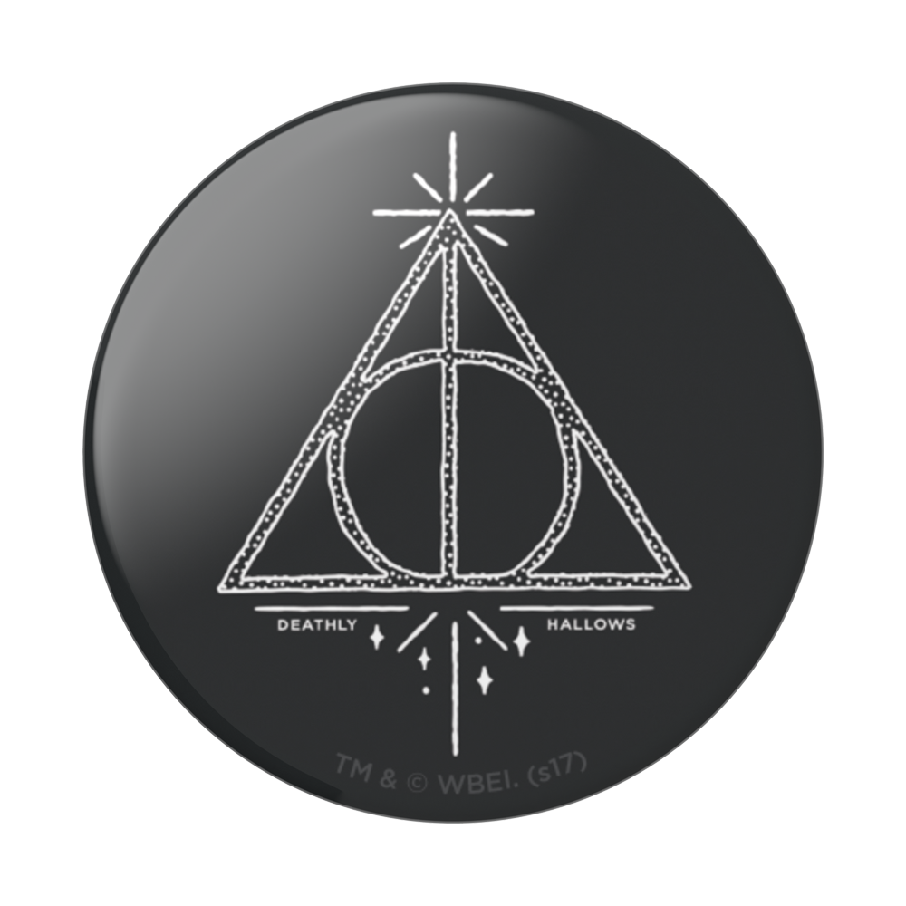 Popsockets 2GEN Deathly Hallows Gloss Suporte Para Celular (zoom)