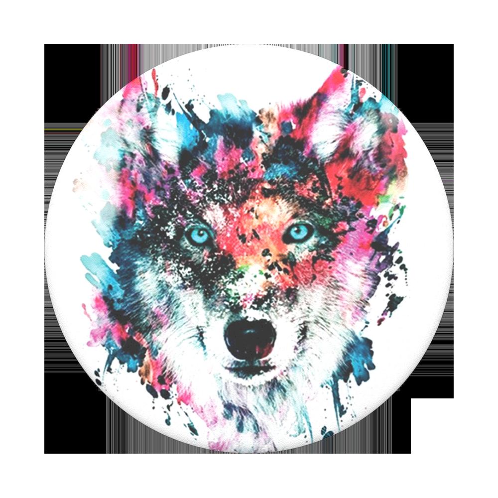 Popsockets 2GEN Wolf Suporte Para Celular Original Usa Clip (zoom)