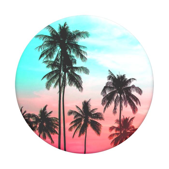 Popsockets 2GEN Tropical Sunset Suporte Para Celular Clip (big)