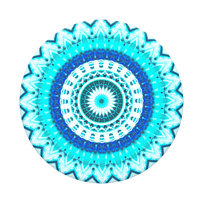 Popsockets 2GEN Blu Floral Mandala Suporte Para Celular Clip (big)