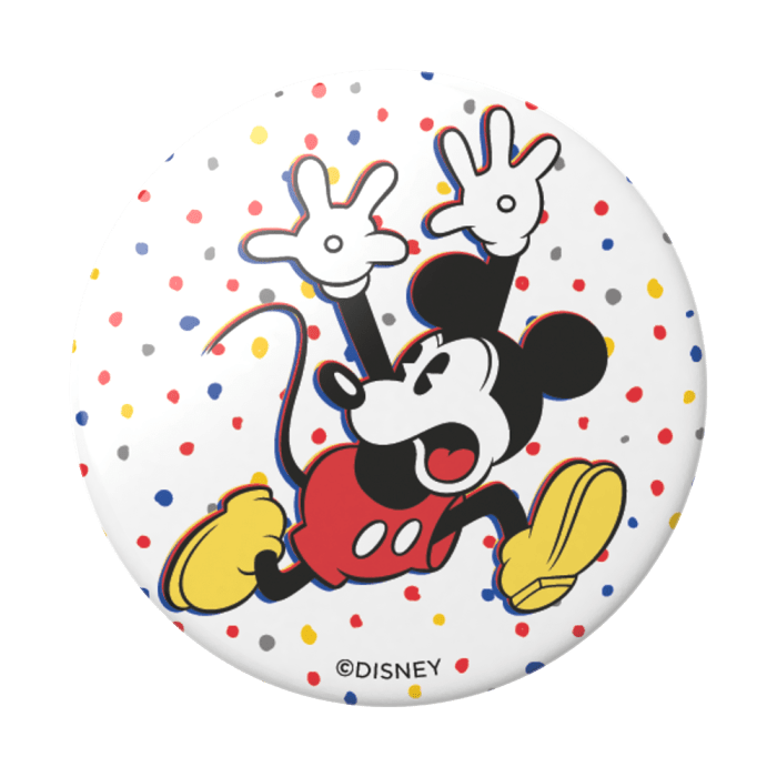 Popsockets 2GEN Confeti Mickey  Suporte Para Celular Clip (big)