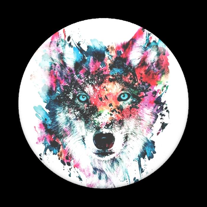 Popsockets 2GEN Wolf Suporte Para Celular Original Usa Clip (big)